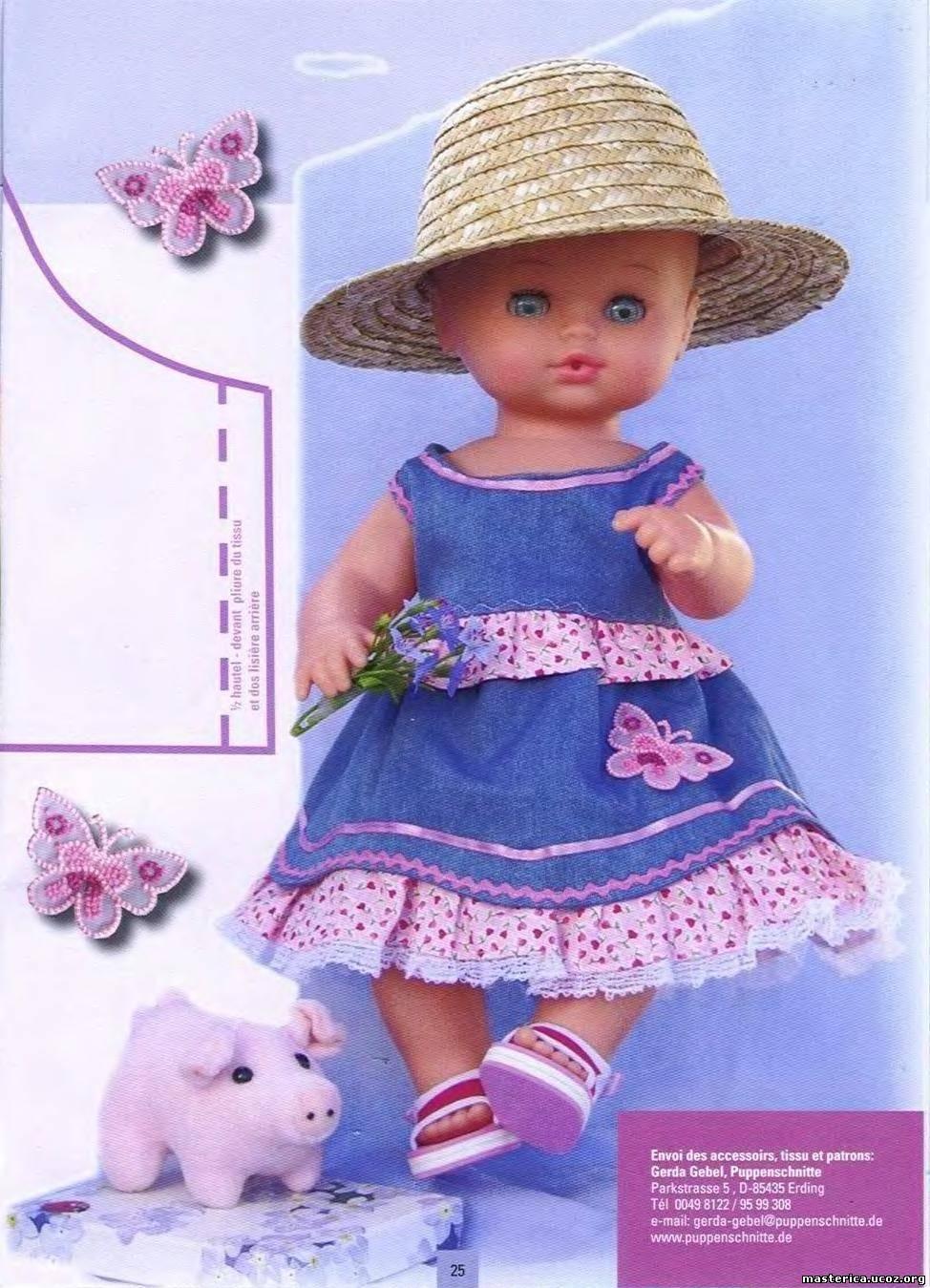 Шьем и вяжем кукол своими руками 718