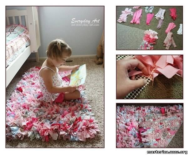 Идеи ковриков в детскую своими руками 6
