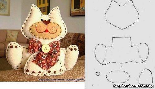 Мягкие игрушки своими руками выкройки фото из носков