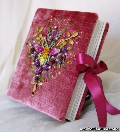 записная книжка с вышивкой