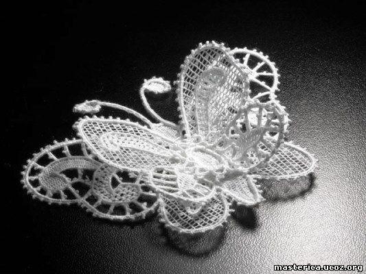 кружевная бабочка