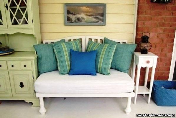 диван из детской кроватки