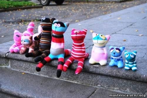 игрушки из носкво