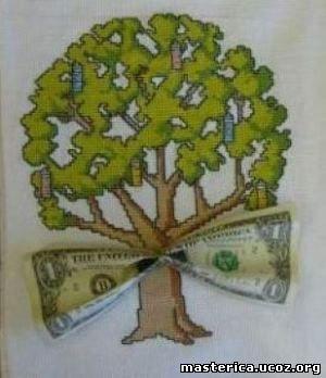 Как свернуть деньги для подарка 66