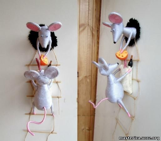 Мышки и кот воришки - магнит на холодильник. Обсуждение на LiveInternet - Российский Сервис Онлайн-Дневников