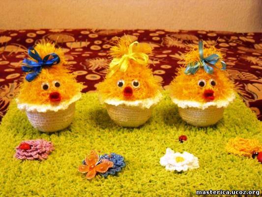 Поделки цыплят